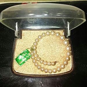 Vintage Mallorca Pearl Bracelet